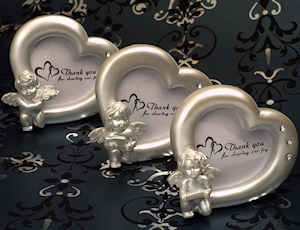 Heaven Sent Cherub Heart Shaped Frames imagerjs