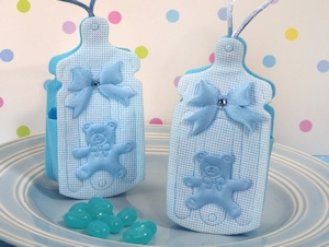 Cute Blue Baby Bottle Bag/Holder imagerjs