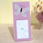 Butterfly Pink Photo Frame