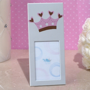 Pink Royal Crown Photo Frame imagerjs