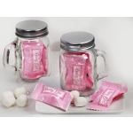Baby Girl Mason Jar Mint Candy Favors