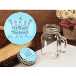 Little Prince Vintage Mini Mason Jar Favor