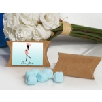 Trendy Mommy Blue Mint Baby Shower Favor Boxes