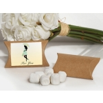 Neutral Baby Shower White Mint Favor Boxes