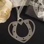 Horseshoe Cowboy Shower Bookmark Favors