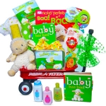 Baby Lullaby Wagon Gift Basket