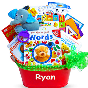 Baby Book Baskets