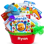 Touch & Discover Deluxe Baby Book Gift Basket