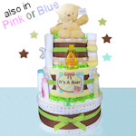 Baby Gund 3-Tier Diaper Cake (3 Colors)