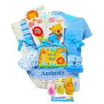 Baby Jungle Pals Basket