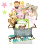 Cowgirl or Cowboy Baby Gift Basket