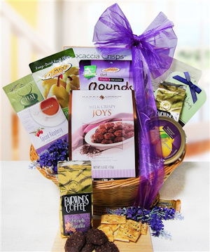 Cheerful Greetings Gift Basket imagerjs