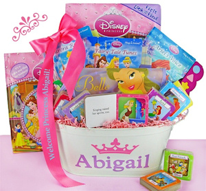 Disney Princess First Library Basket imagerjs