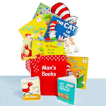 Dr. Seuss Library Book Gift Basket