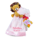 Little Lion Plush & Baby Blanket Gift Set (3 Colors)