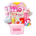Little Safari Baby Gift Basket