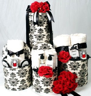 Romantic Spa Gift Tower image