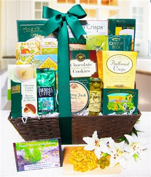 Plant A Tree In Loving Memory Gift Basket imagerjs