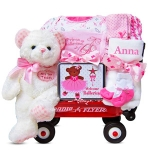 Personalized Beary Ballerina Baby Girl Wagon