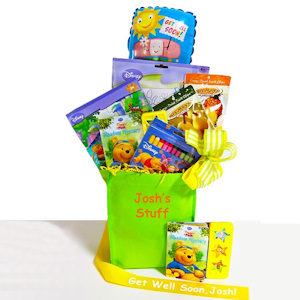 Pooh Bear Get Well Gift Set imagerjs