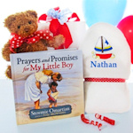 Prayers For My Little Boy Gift Set