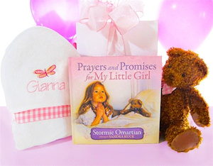 Prayers For My Little Girl Gift Set image