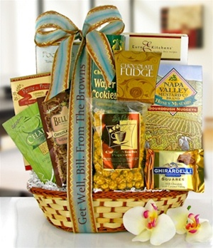 Wishes of Healing Gourmet Gift Basket image