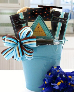 Chocolate Cravings Gift Basket data-pin-no-hover=