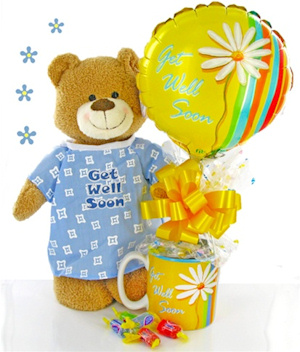 Get Well Soon Bear Gift Set imagerjs