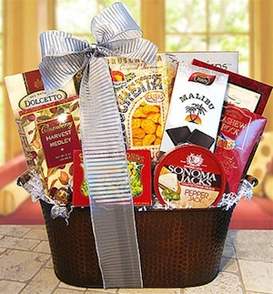 West Coast Sampler Gift Basket imagerjs