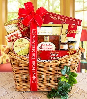 Generous Gourmet Corporate Christmas Basket image