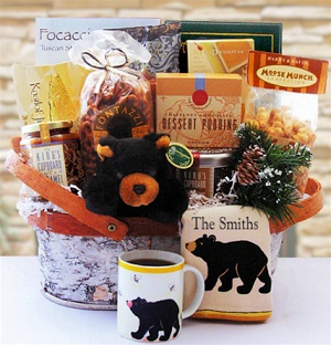 North Woods Holiday Gift Basket image