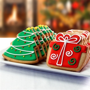 Season's Greetings Holiday Cookie Gift Box Delete imagerjs