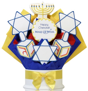 Happy Chanukah Shortbread Logo Arrangement Delete imagerjs