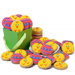 Easter Decorated Cookies Gift Basket Delete imagerjs