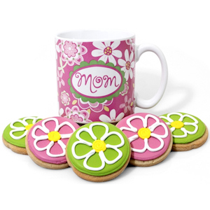 Mother's Day Flower Cookie Mug Delete imagerjs