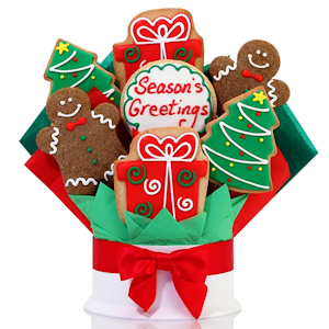 Seasons Greetings Christmas Cookie Arrangement Delete imagerjs