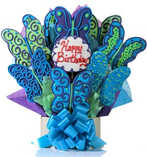 Butterfly Birthday Bouquet of Cookies Delete imagerjs