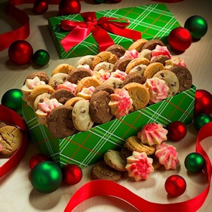 Deluxe Holiday Gourmet Cookie Box Delete imagerjs