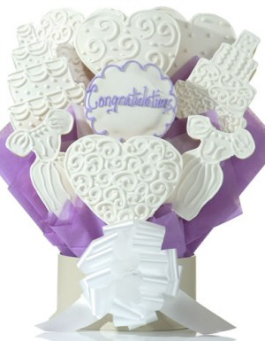 Wedded Bliss Cookie Arrangement Delete image