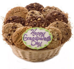 Happy Grandparent's Day Cookie Basket Delete image