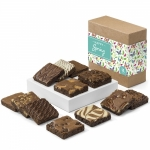 Happy Spring Gourmet Brownie Gift Box