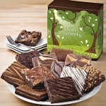 With Sympathy Gourmet Brownie Gift Box