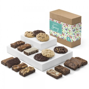Happy Spring Brownie & Cookie Gift Box imagerjs
