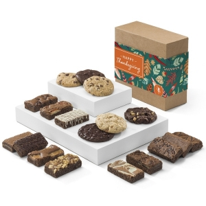 Thanksgiving Cookie & Brownie Gift Box imagerjs