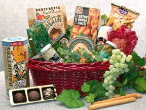 Fanciful Flavors Gourmet Gift Basket imagerjs