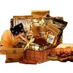Chocolate Treasures Holiday Gift Basket