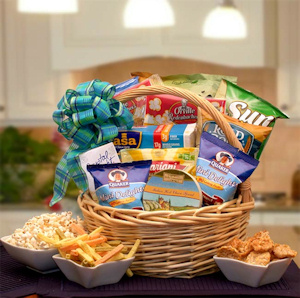 Healthy Delights Guilt Free Gift Basket imagerjs