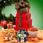 Holiday Sweets & Treats Tower of Gift Boxes