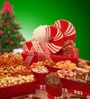 Candy Cane Gift Stack image